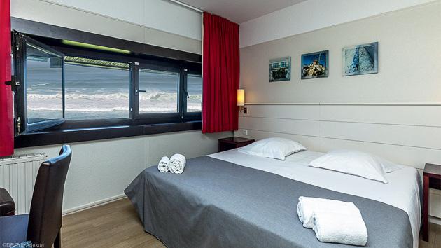 Votre chambre avec vue sur l'Océan à Anglet au Pays Basque
