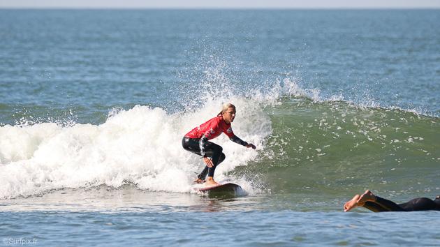 mon super stage de surf à Anglet avec logement