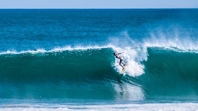 super bon spot de surf au Panama