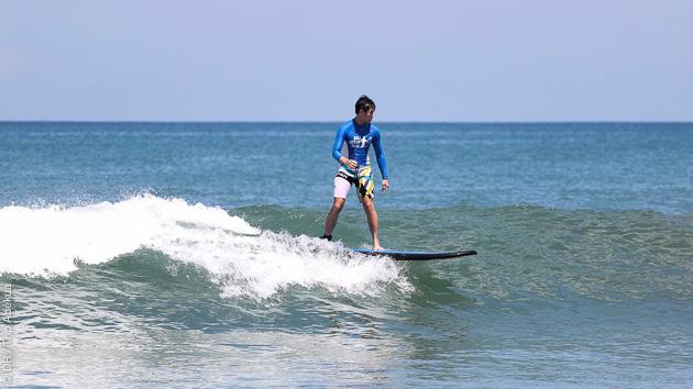 stage de surf débutant à Bali