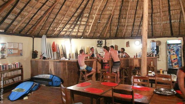 ambiance surf au lodge de popoyo