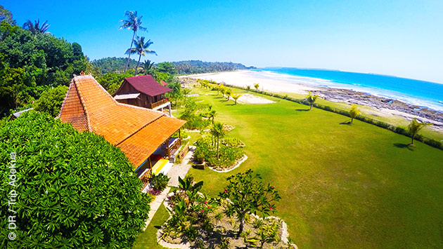 Séjour de rêve, boat trip surf , sur l'ile de Simeulue au large de Sumatra, en Indonésie