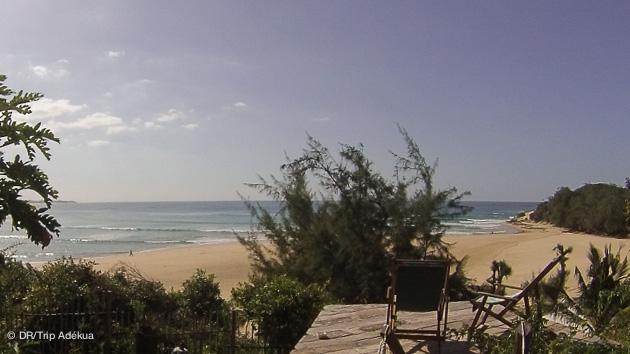 votre maison luxe avec vue sur le spot de surf au Mozambique