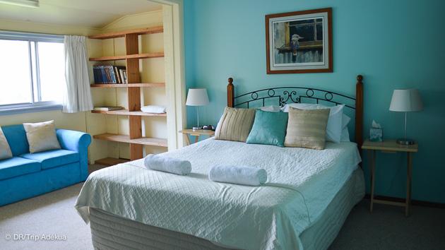 votre chambre au surfcamp en face du spot