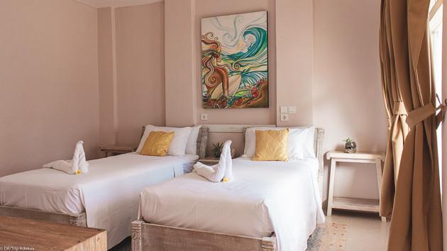 Votre hébergement tout confort pour votre surf trip en Indonésie