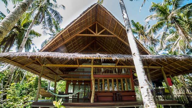 Votre hébergement tout confort pour ce séjour surf aux Philippines