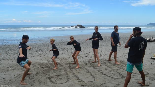 Votre stage de surf avec 6 cours de 2 heures au Costa Rica