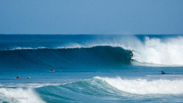 spot parfait pour vos vacances surf en famille au Costa Rica