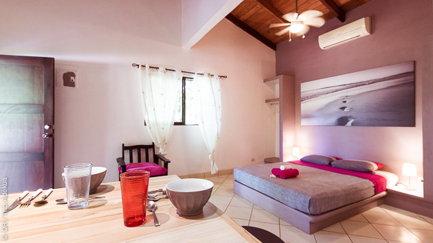votre chambre grand luxe près des meilleurs spots du Costa Rica