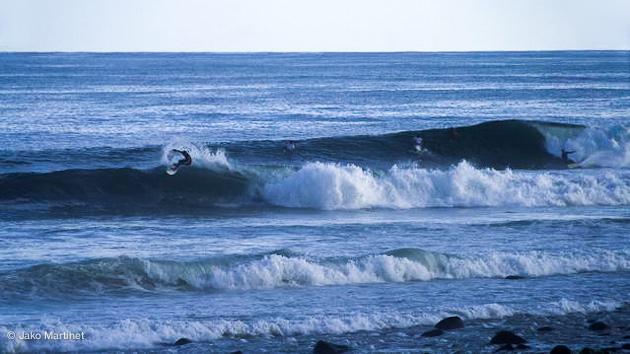 à 1 heure de El Salvador les vagues de El Tunco