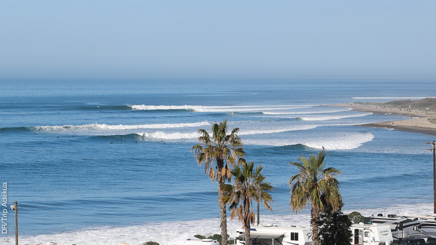 spot de surf de Californie