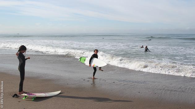 cours de surf en Californie