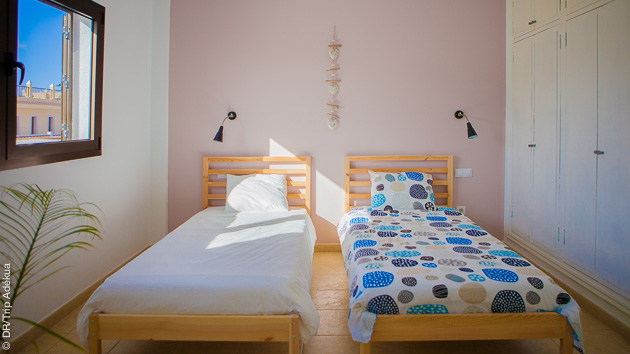 chambre surf camp aux Canaries