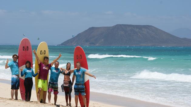 Des vacances surf et fitnesse de rêve aux Canaries
