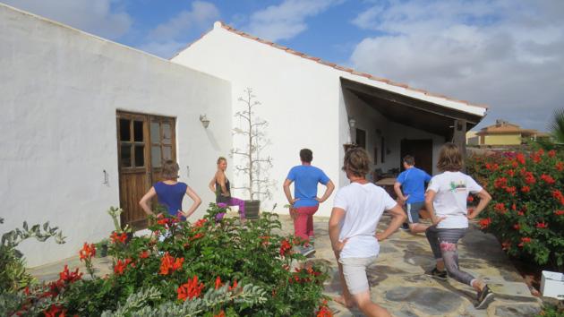Progressez grâce à un stage de fucntional training ciblé surf aux Canaries
