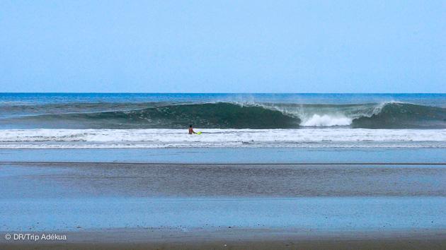 Un des spots de Ayampe pour votre stage surf en Equateur