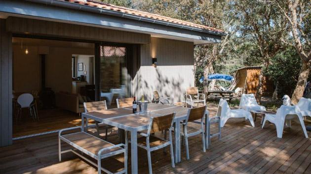 Une villa tout confort pour un séjour surf en pension complète
