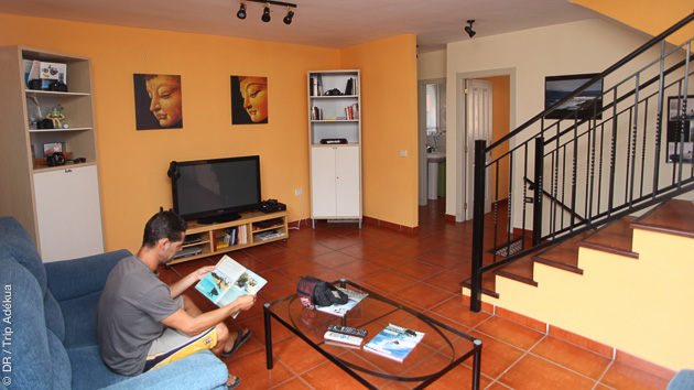 Convivialité et confort pour ce séjour surf à Tenerife