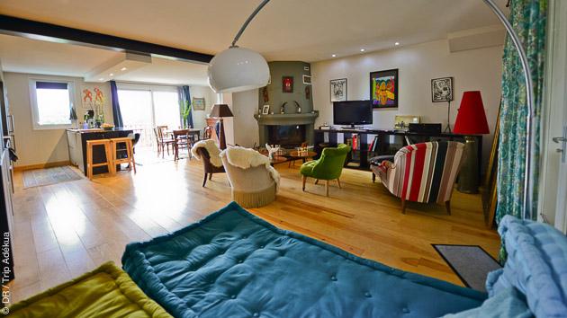 Hébergement en guest house, guide et transport sur les spots de surf au programme de ces vacances surf à Guéthary