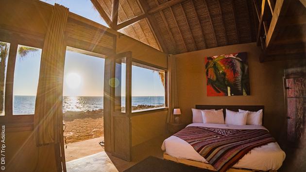 Bungalow sur le spot de Foum Labouir à Dakhla pour vos vacances surf au Maroc
