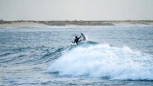 Les moniteurs du surf center vous conseillent le spot de Foum Labouir pour ce séjour à Dakhla