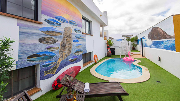 Profitez de votre surf house tout confort pendant votre séjour surf
