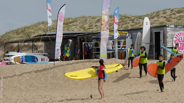 votre club de surf en vendée pour vos stages