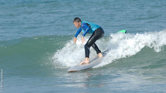 stage de surf pour ado en vendée