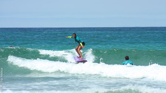 stage de surf dans les landes