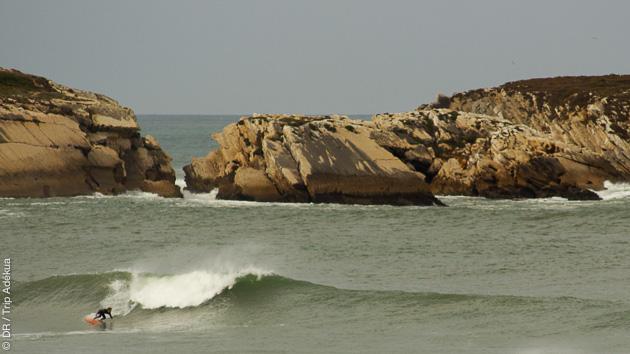 Un choix de spots entre Baleal et Supertubos, à surfer pendant votre stage au Portugal