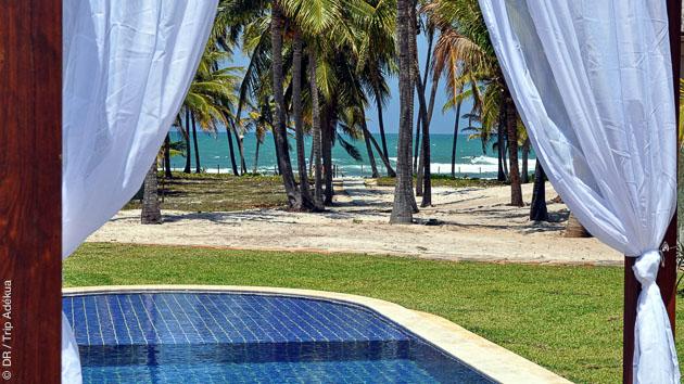 Votre hébergement en villa avec piscine pendant votre séjour surf à Praia do Forte