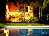 Votre logement au Costa Rica : un bungalow tout confort avec piscine - voyages adékua