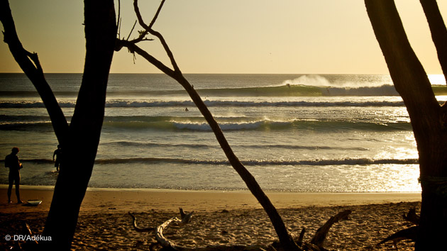 bon spot de surf au Costa Rica