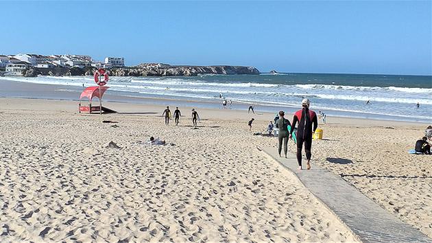 Le spot idéal pour progresser et se faire plaisir au Portugal