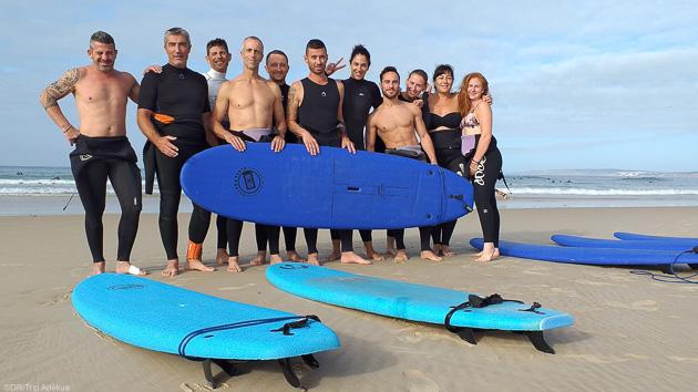 Votre séjour surf en groupe à Peniche au Portugal