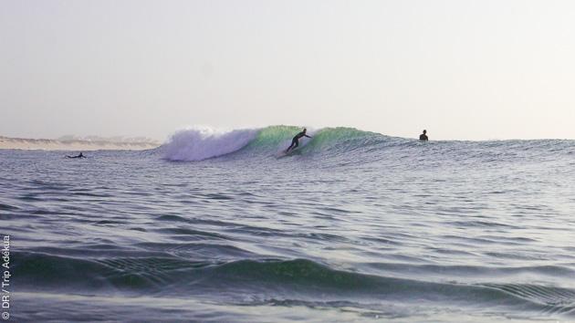 Un séjour idéal pour progresser en surf entre amis au Portugal
