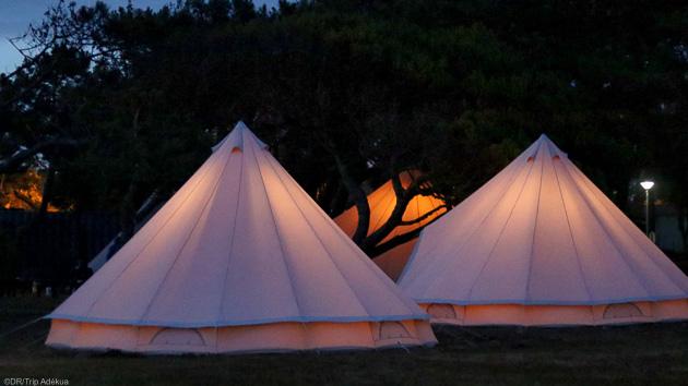 Votre hébergement tout confort en tipi dans un camping 4 étoiles