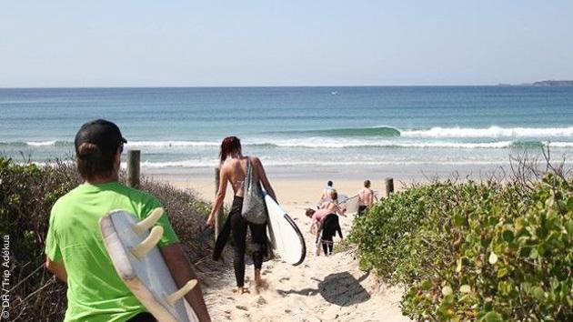 Apprenez ou perfectionnez votre style de surf sur les spots de Thirroul, en Australie