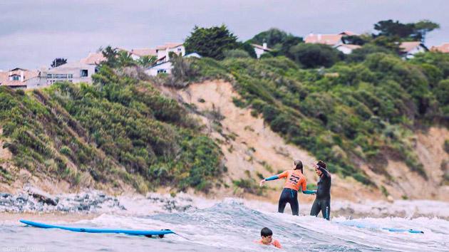 Surfez les meilleures vagues de la côte basque à Saint Jean de Luz
