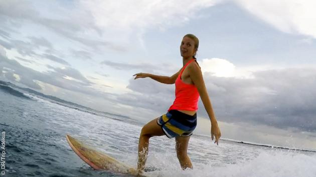 une destination surf pour tous niveaux