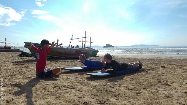 Surf et découverte du sud du Sri Lanka, sur l'Océan Indien