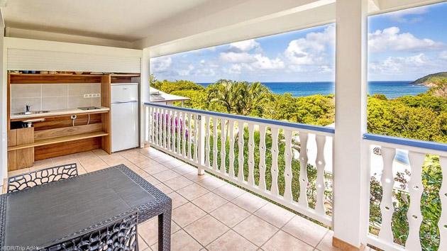 Un studio tout confort pour profiter de votre séjour surf en Martinique