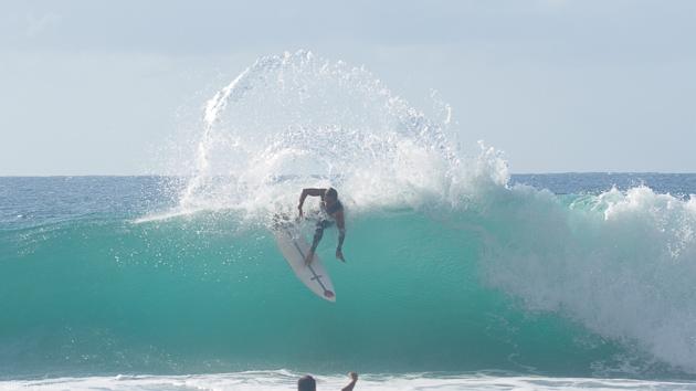 Progressez dans les meilleures vagues de l'île de la Martinique