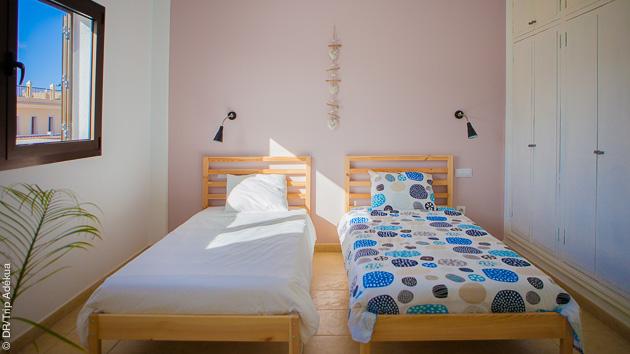 Chambre du surfcamp à Fuerteventura