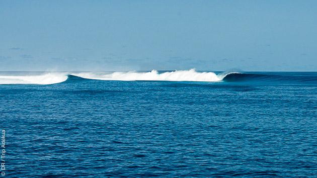 L'archipel de Huvadhoo recèle de vagues que vous surferez pendant votre croisière aux Maldives
