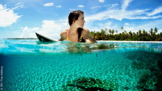Entre vos sessions surf, découverte des beautés des Maldives sur et sous l'eau