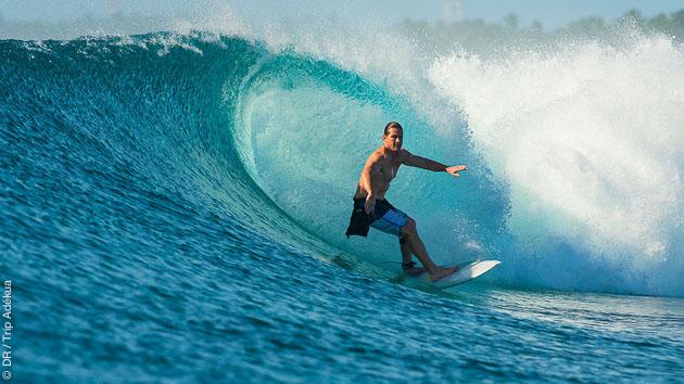 Superbe séjour croisière surf aux maldives
