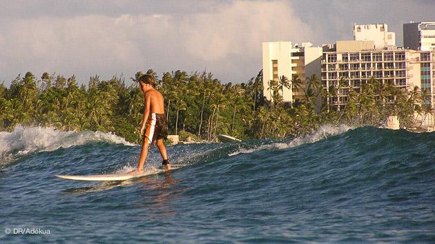 stage surf au pays du surf à Oahu, Hawaii