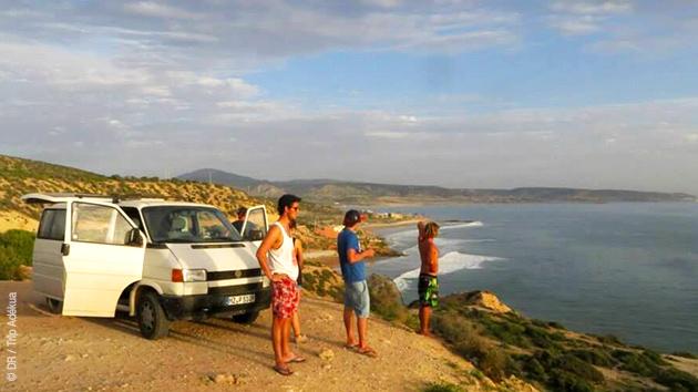Un circuit sur les côtes basques et landaises pour surfeurs confirmés