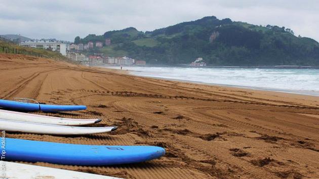 Des conditions parfaites entre Landes et Pas Basque, pour le surf et la fiesta !